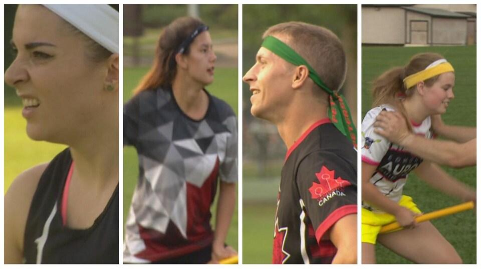 Joueurs des Aurors d'Edmonton