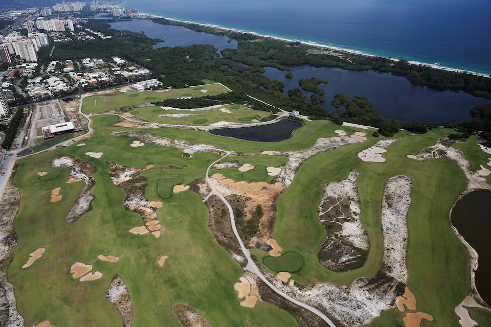 Le parcours de golf des Jeux olympiques de Rio, en décrépitude