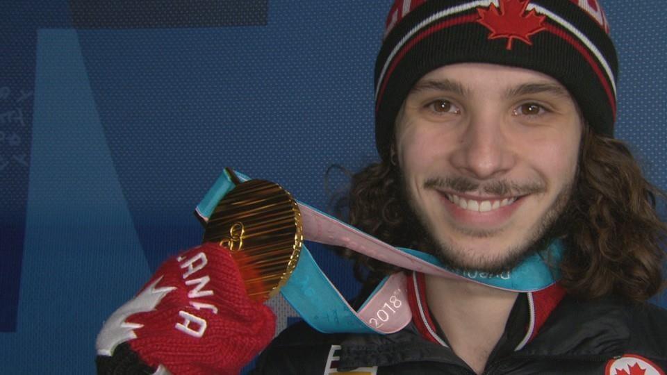 Samuel Girard médaille