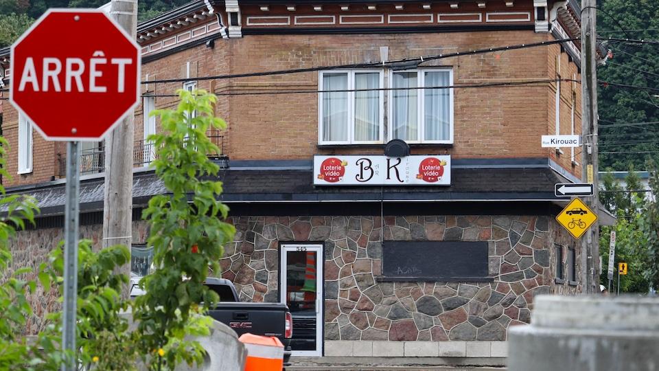 Le bar Kirouac.