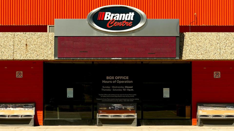 Le centre Brandt, à Regina.