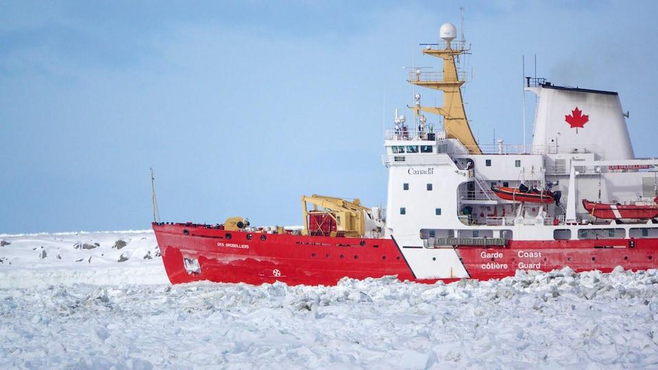 Brise-glace moyen.