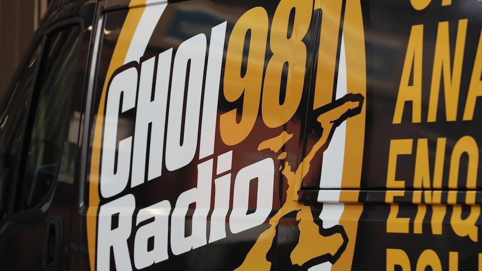 Le logo de CHOI Radio X.