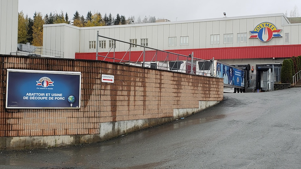 L'usine Olymel de Vallée-Jonction.
