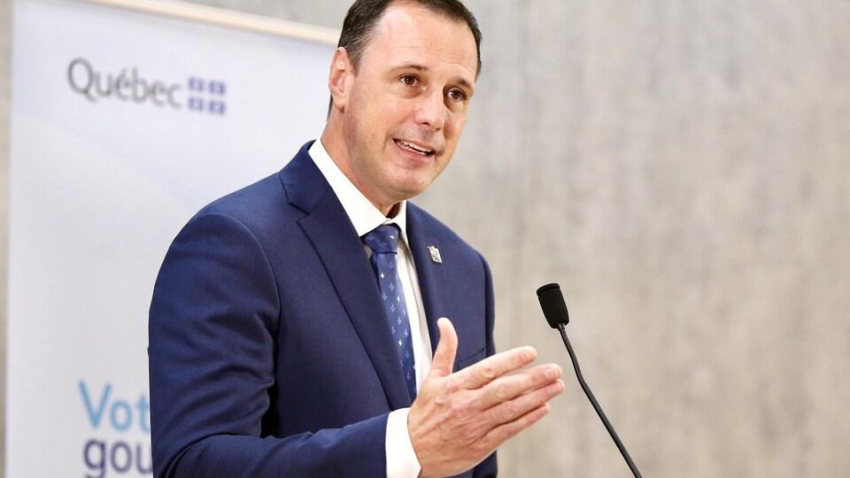 Jean-François Roberge, ministre de l'Éducation du Québec
