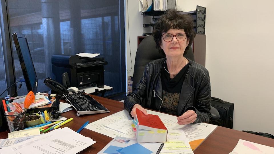 Judith Gagnon, présidente de l'AQDR