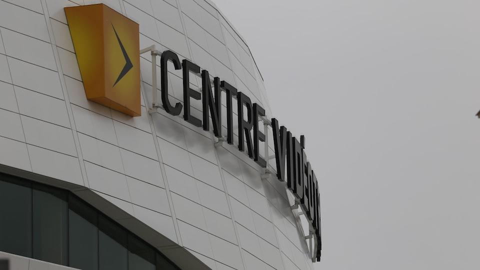 Le Centre Vidéotron.