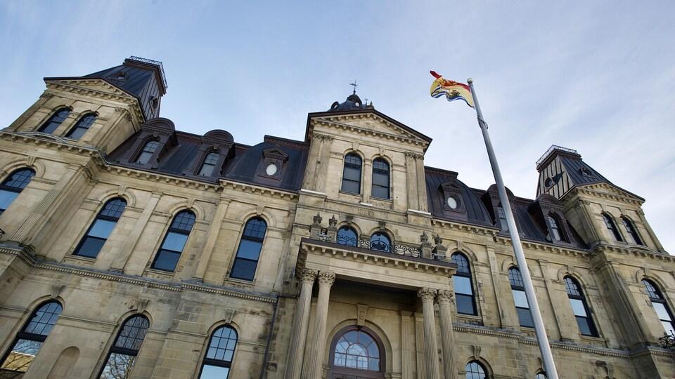 L'édifice de l'Assemblée législative.