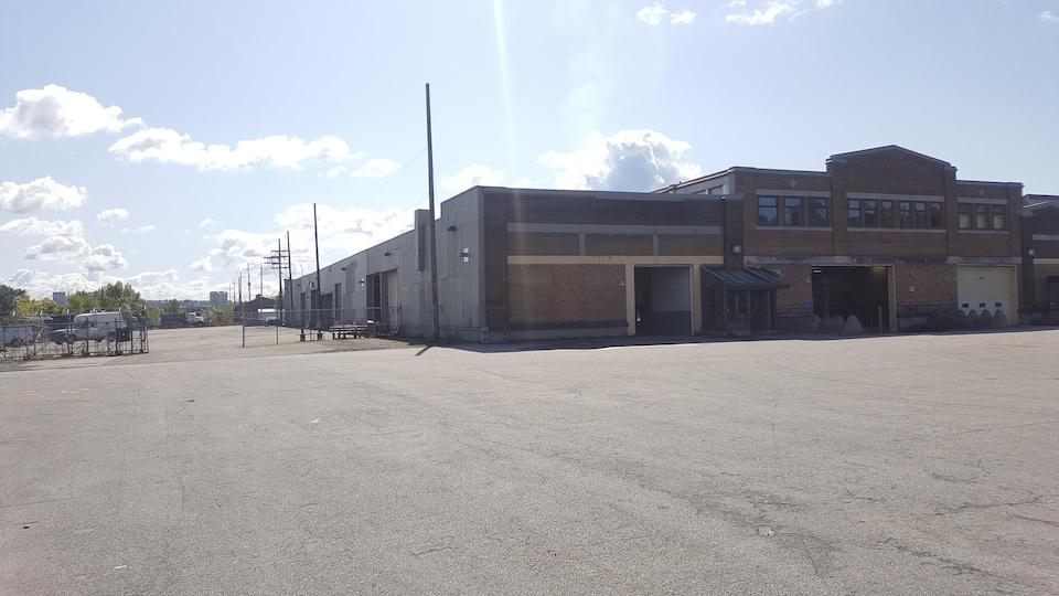 Un garage municipal de la Ville de Québec
