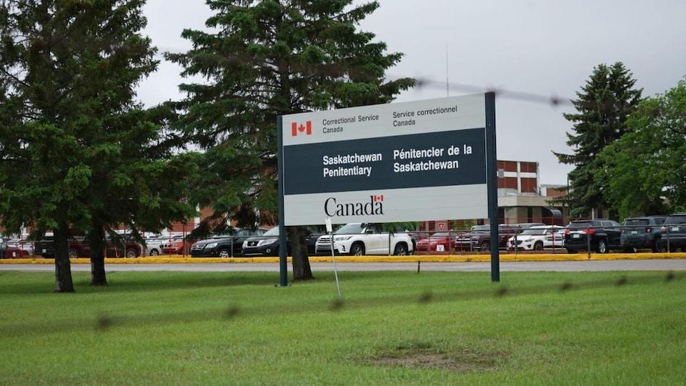 Le pénitencier de la Saskatchewan, dans la ville de Prince Albert.