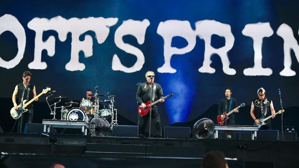 The Offspring sur la scène Bell