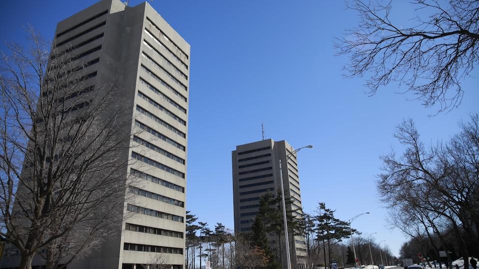 Vue panoramique du campus.
