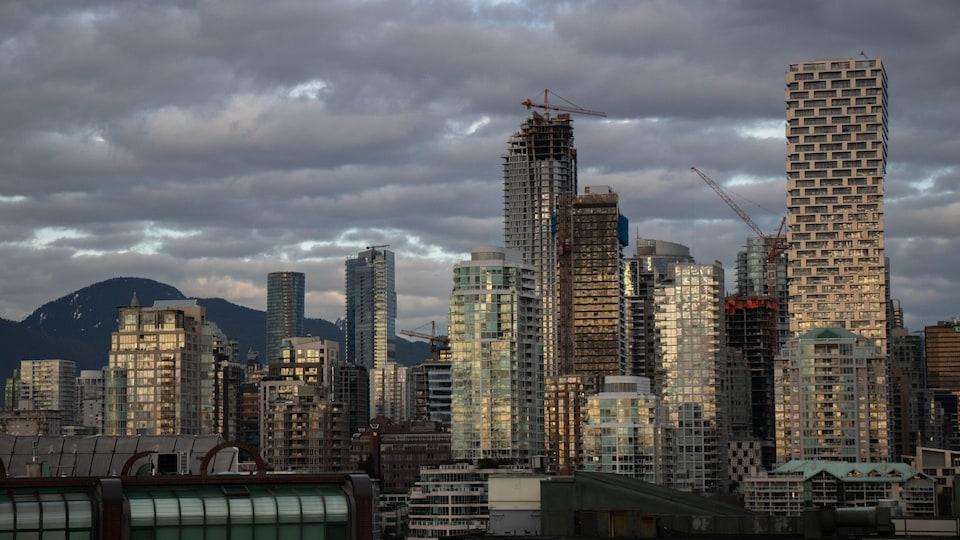 Le centre-ville de Vancouver.