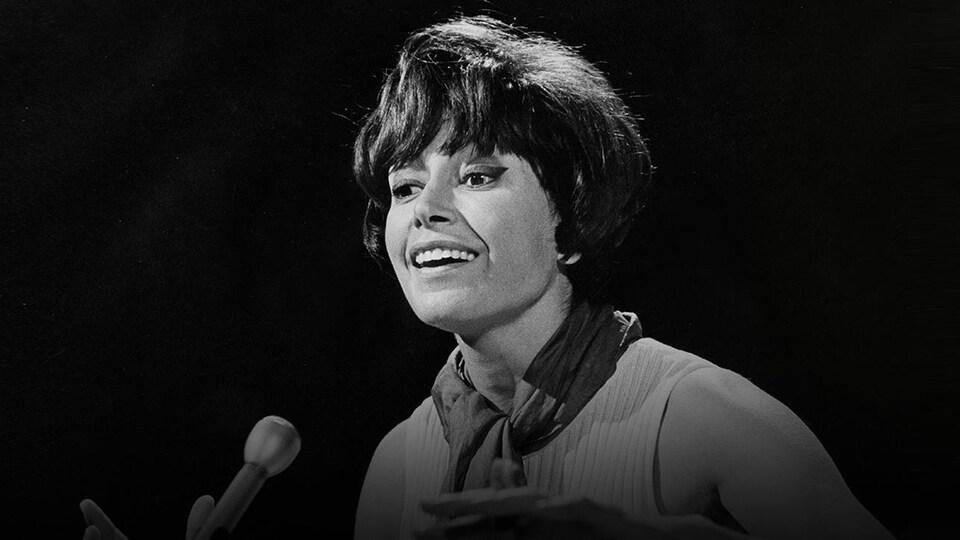 Paulien Julien en pleine prestation en 1967