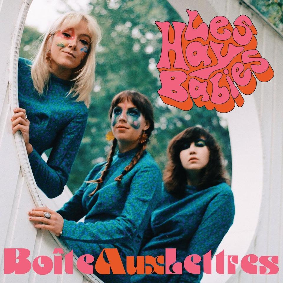 """La pochette de l'album """"Boîte aux lettres"""", des Hay Babies (2020)."""