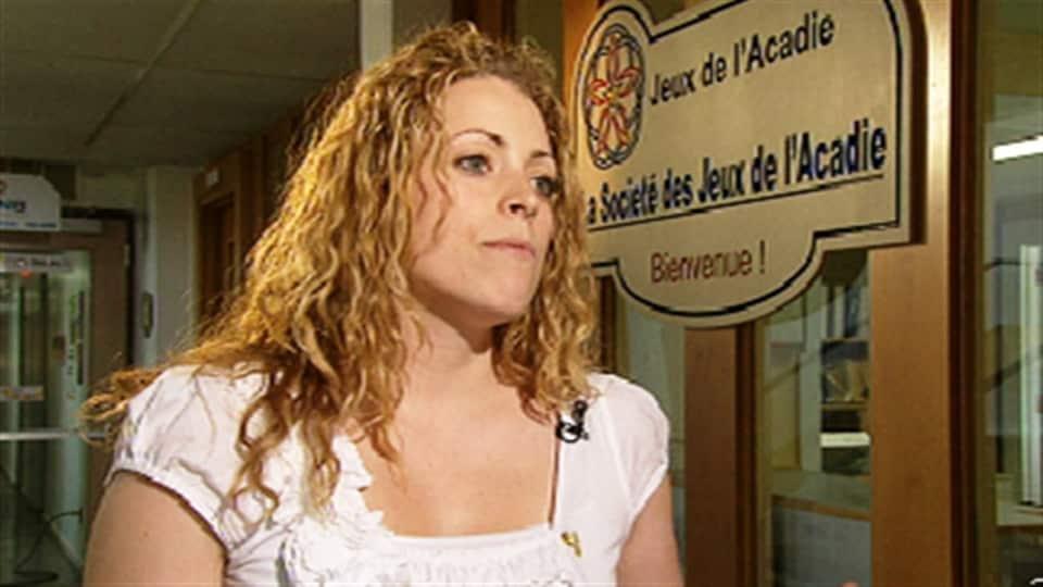 Mylène Ouellet-LeBlanc, directrice générale de la Société des Jeux de l'Acadie