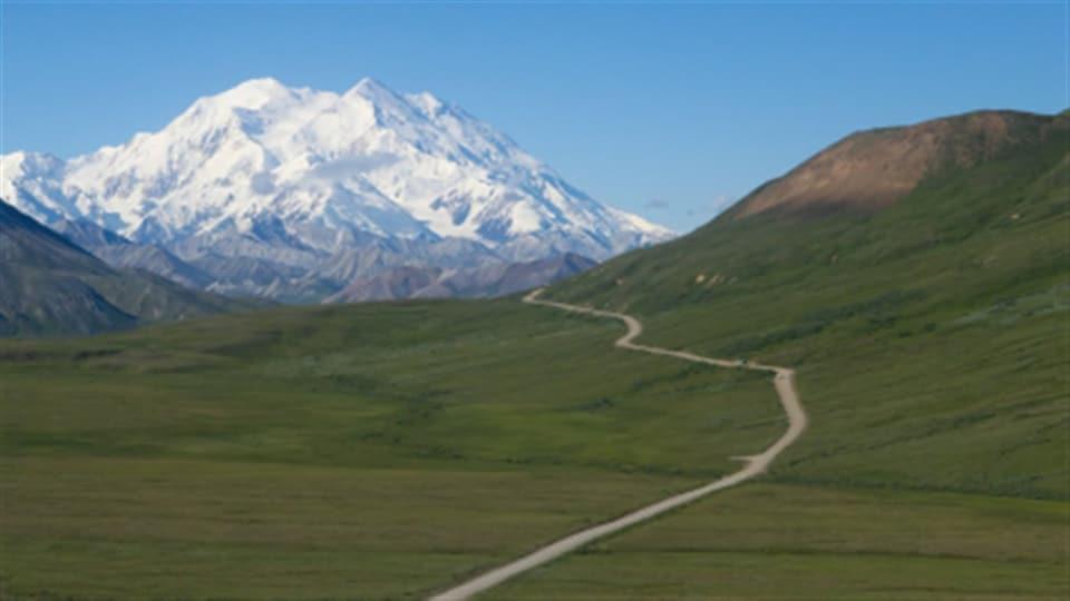 Alaska-MtMcKinley-route