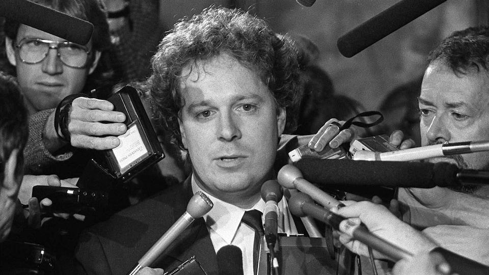 Jean Charest, le 26 septembre 1988