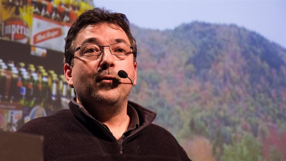 Le professeur Christian Messier