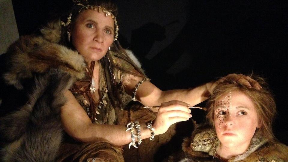 L'exposition La grotte de Lascaux : chefs-d'oeuvre de la préhistoire, présentée au Centre des Sciences de Montréal.