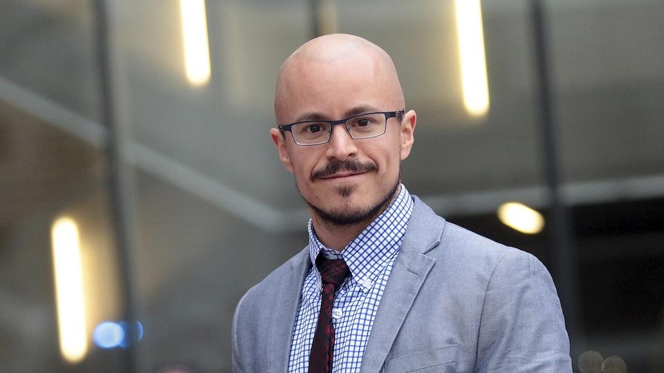 Notre personnalité de la semaine Radio-Canada/Le Droit, Alexandre Baril.