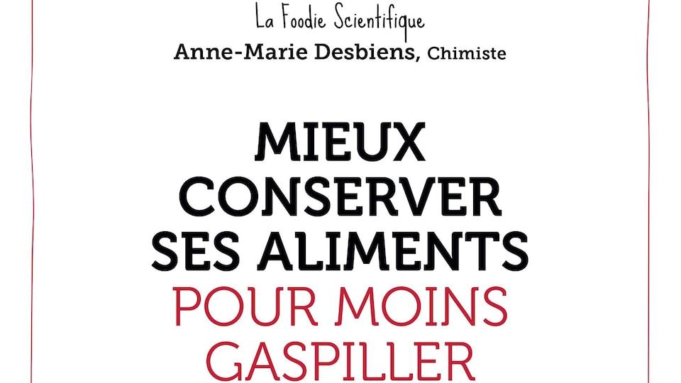 Page couverture du livre Mieux conserver ses aliments