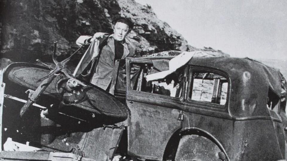 Photographie d'archive d'André Breton
