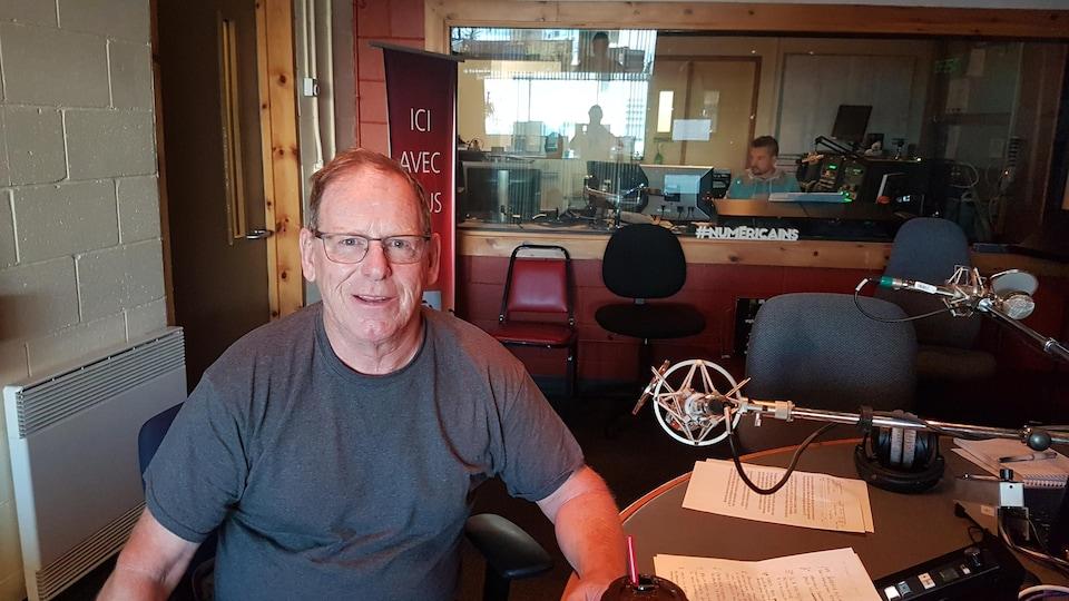 André Desrosiers, propriétaire de Carillon Taxi