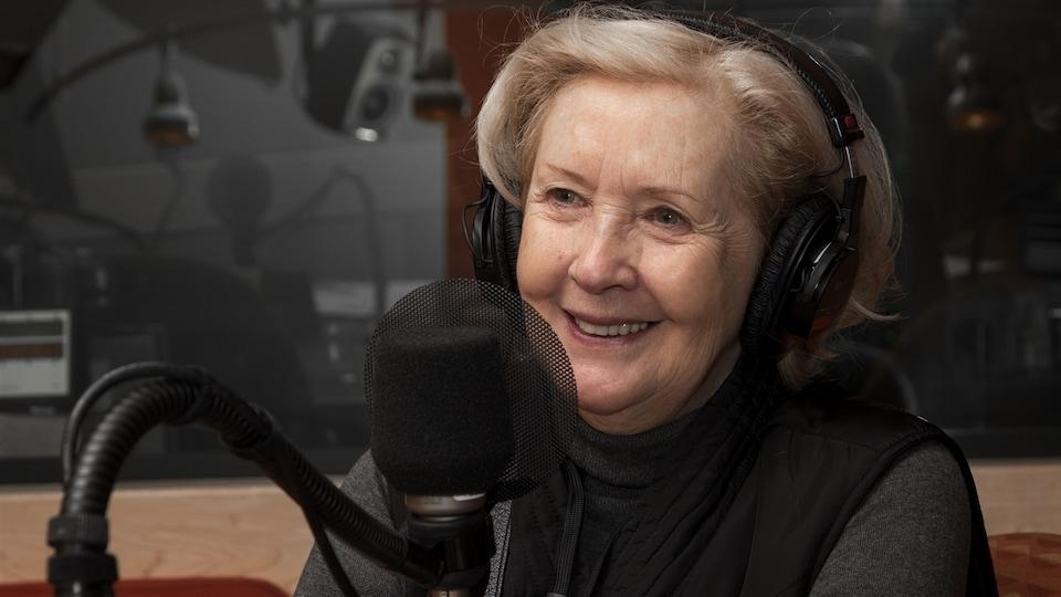 La comédienne Andrée Lachapelle