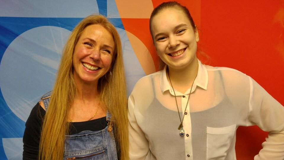 Manon Lortie et Ann-Sophie Gravel ont participé à la 7e commission jeunesse d'éthique
