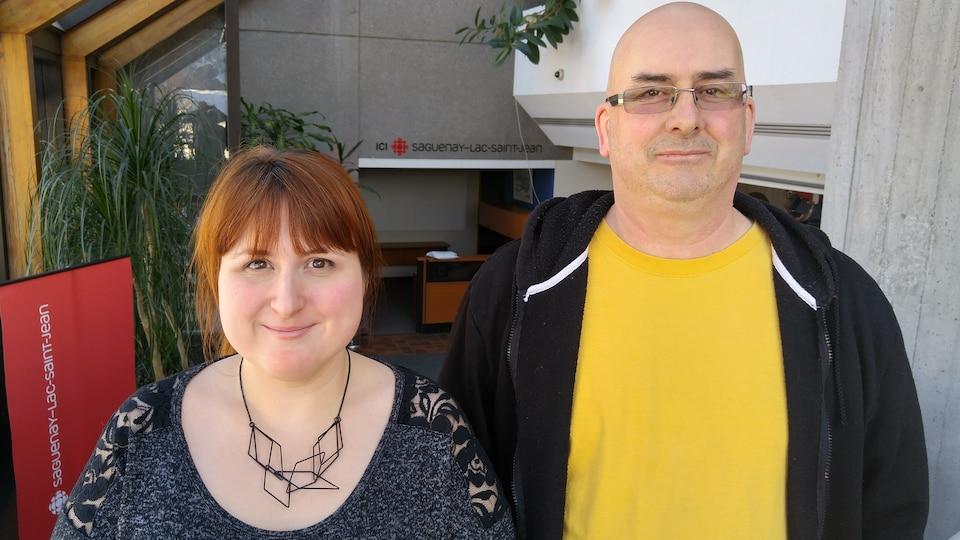 Annie Jean-Lavoie et Sylvain Bergeron