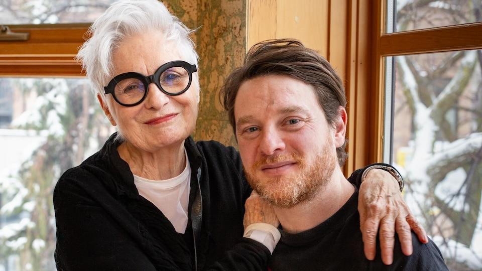 Louise Latraverse Et Yann Perreau La Vie A Fleur De Peau L Autre Midi A La Table D A Cote