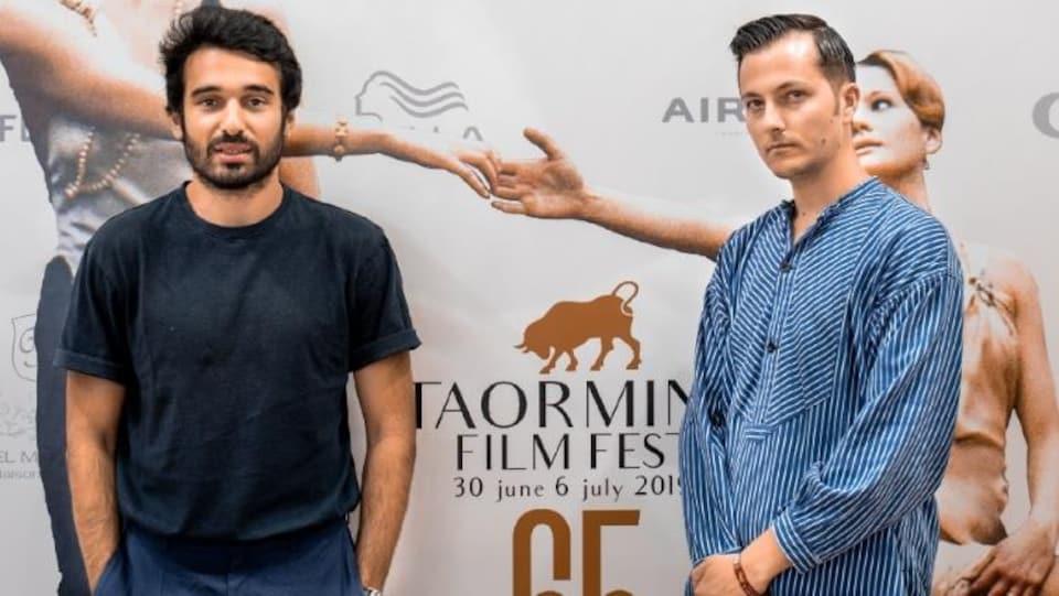 Syrus Shahidi, acteur et Julien Paolini, réalisateur du film Amare Amaro