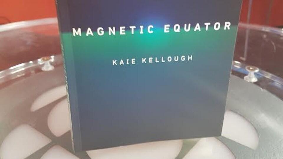 Couverture du livre de poésie Magnetic Equator, de l'auteur Kaie Kellough.