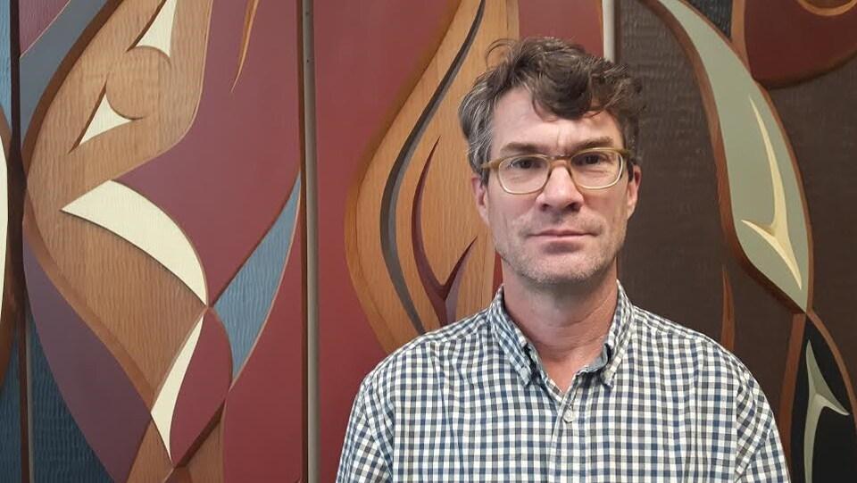 Peter Ross, directeur de l'Aquarium de Vancouver.