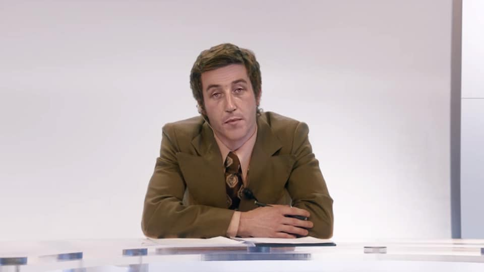 Bernard Derome en 1970.