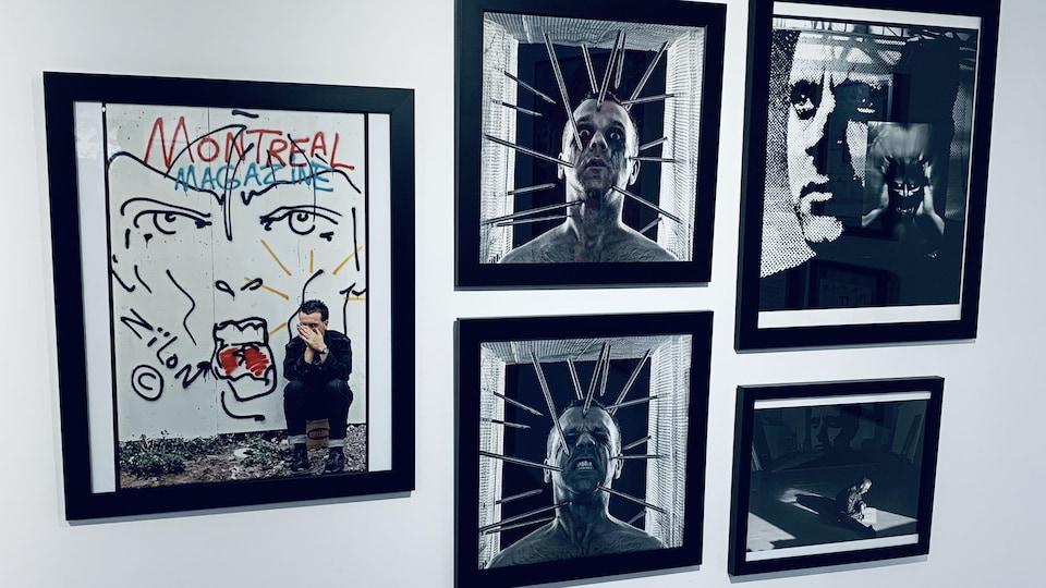 Des œuvres de l'artiste multidisciplinaire Zïlon.