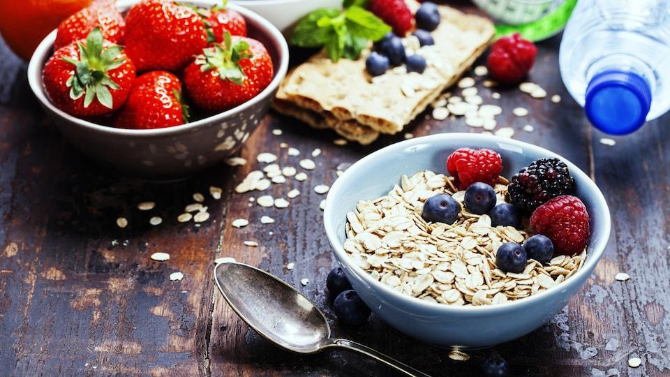 Un petit déjeuner santé