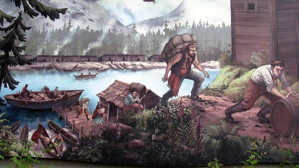 Murale de Laura Bisano.