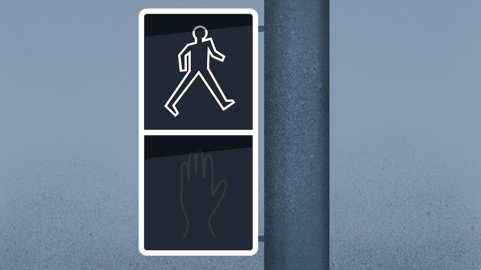 Feu de signalisation pour piétons
