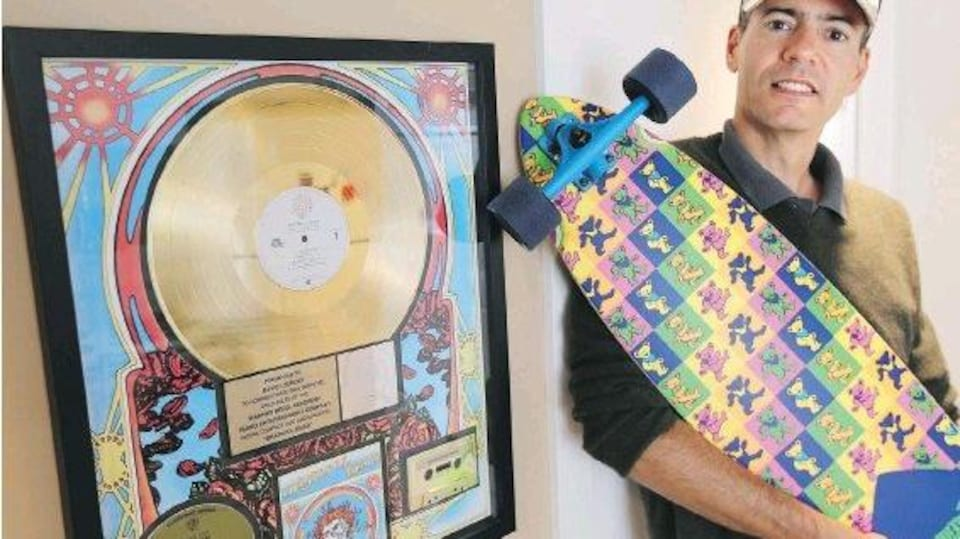 David Hardy Lemieux, archiviste officiel du groupe The Grateful Dead.