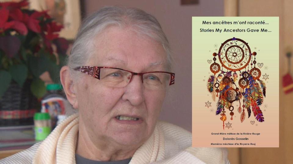 Dolorès Gosselin, auteure du livre 'Mes ancêtres m'ont raconté'.