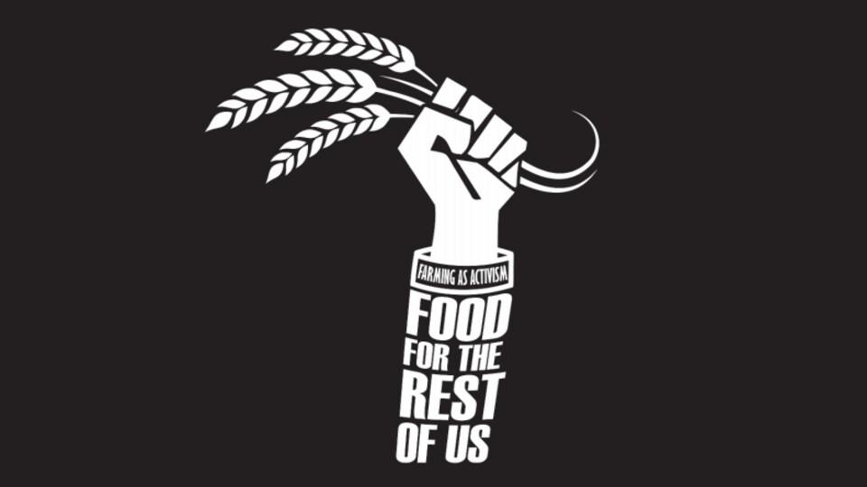 L'affiche du documentaire 'Food for the rest of us' de Caroline Cox et Tiffany Ayalik (TNO).