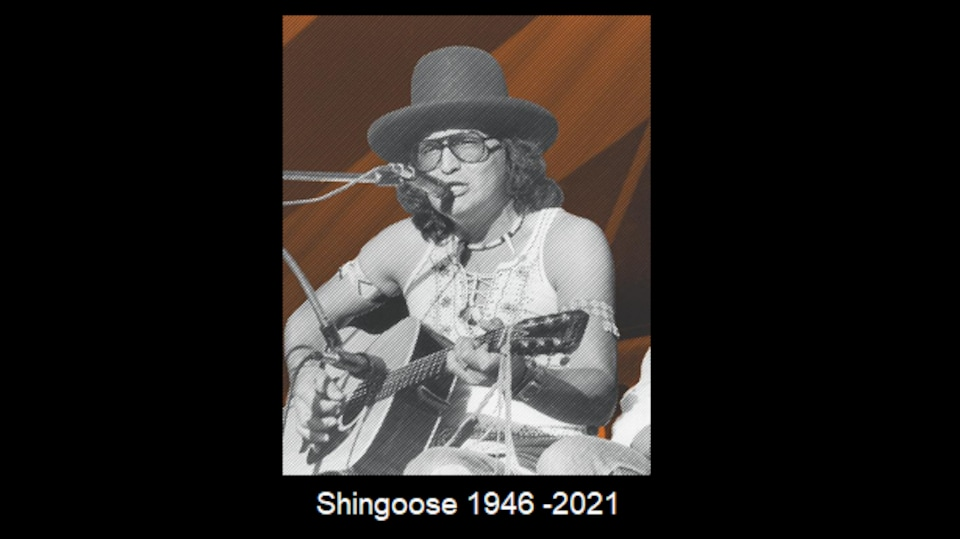 L'artiste Ojibway Shingoose, mort à Winnipeg le 12 janvier 2021.