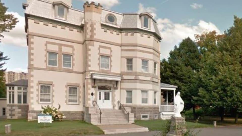 Une luxueuse résidence construite en 1903