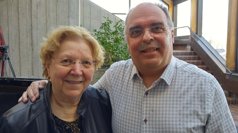 Christiane Laforge et Martin Gaudreault
