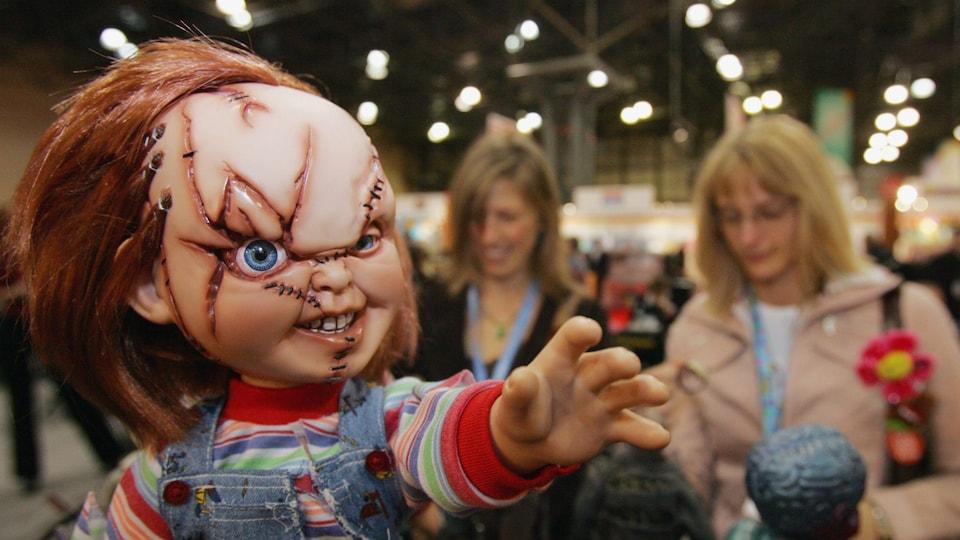 La poupée « Chucky », vedette d'une série de films d'horreur