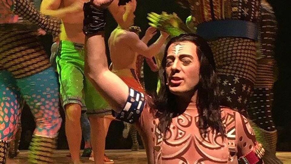 Le chanteur acadien Christian Kit Goguen en vedette dans le spectacle Totem du Cirque du Soleil