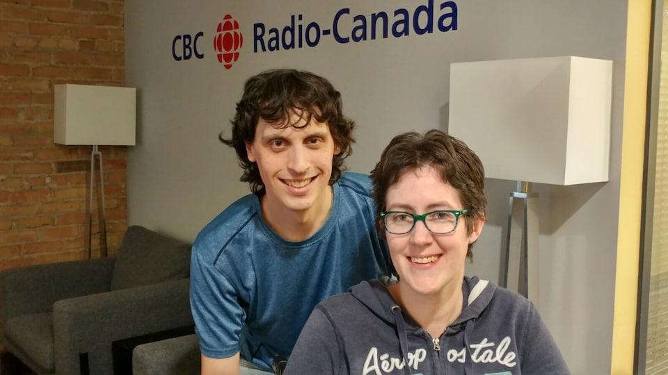 Gilles et Bridget Crevier.