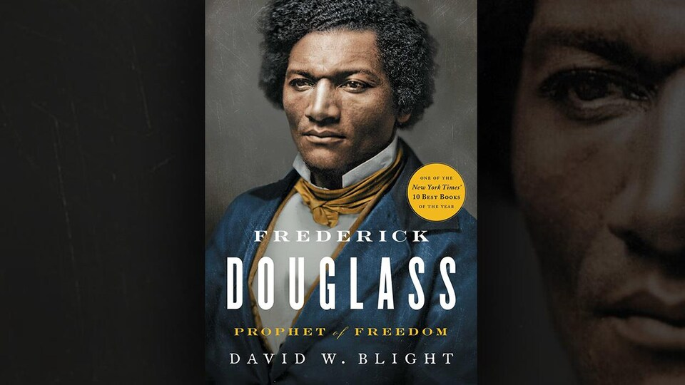 La couverture du livre <i>Frederick Douglass Phophet of Freedom</i> de David W. Blight